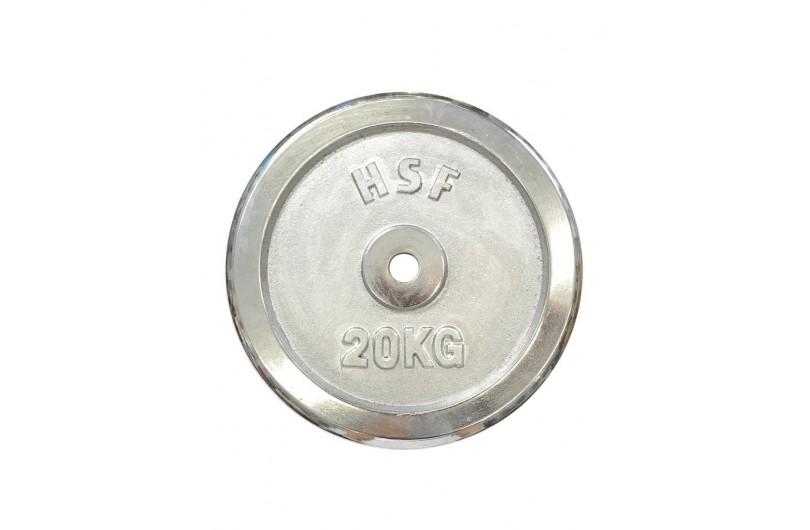 DB C102-20 | Диск хромований 20 кг
