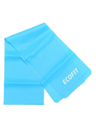 Еспандер стрічковий Ecofit MD1318 TPE 6,8-8,2кг 1200 * 150 * 0.5мм синій