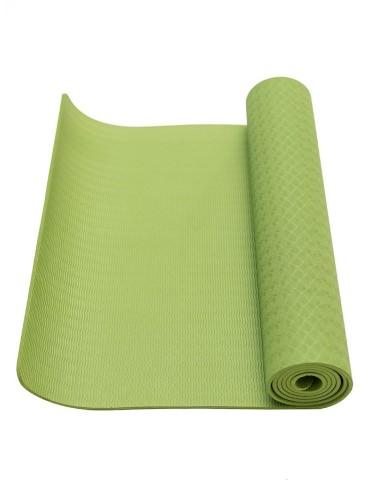 Килимок для фітнесу Ecofit MD9012 одношаровий TPE 1830 * 610 * 6мм зелений
