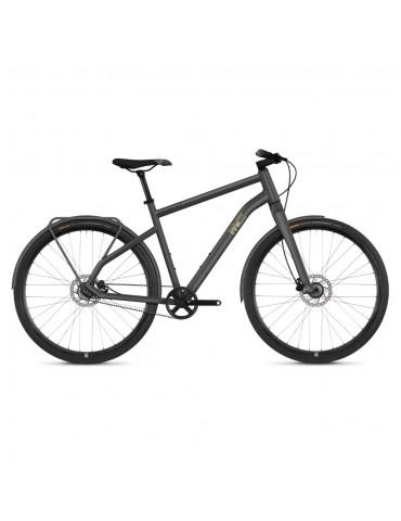 "Велосипед Ghost Square Urban 3.8 28 ""рама M, сіро-коричнево-чорний, 2019"