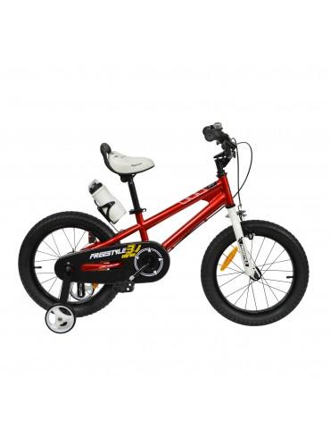 "Велосипед RoyalBaby FREESTYLE 14 "", OFFICIAL UA, червоний"