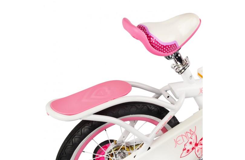 "Велосипед RoyalBaby JENNY GIRLS 18 "", OFFICIAL UA, білий"