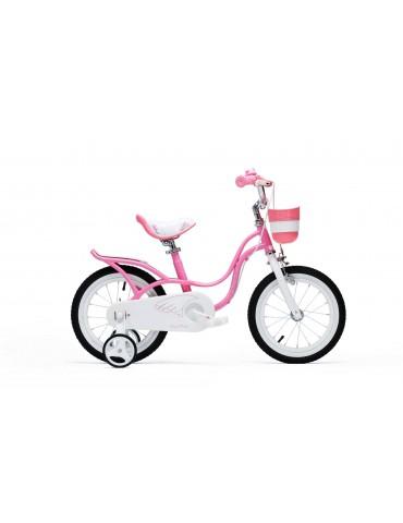 "Велосипед RoyalBaby LITTLE SWAN 16 "", OFFICIAL UA, рожевий"