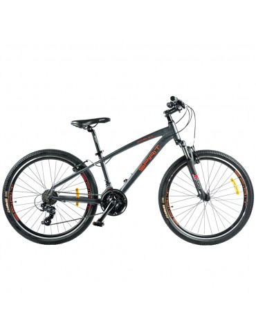 """Велосипед Spirit Spark 6.0 26 """", рама S, темно-сірий / матовий, 2021"""