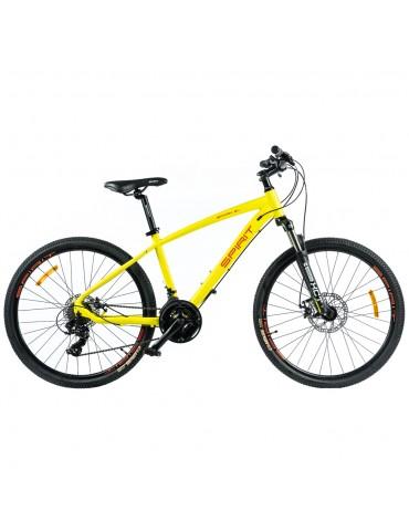"""Велосипед Spirit Spark 6.1 26 """", рама M, жовтий / матовий, 2021"""