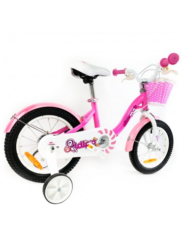 "Велосипед дитячий RoyalBaby Chipmunk MM Girls 14 "", OFFICIAL UA, рожевий"
